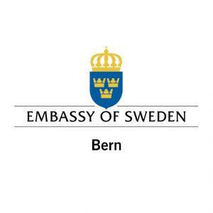 Logo Embassy of Sweden Bern colour